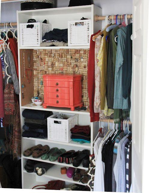 Glam up a closet