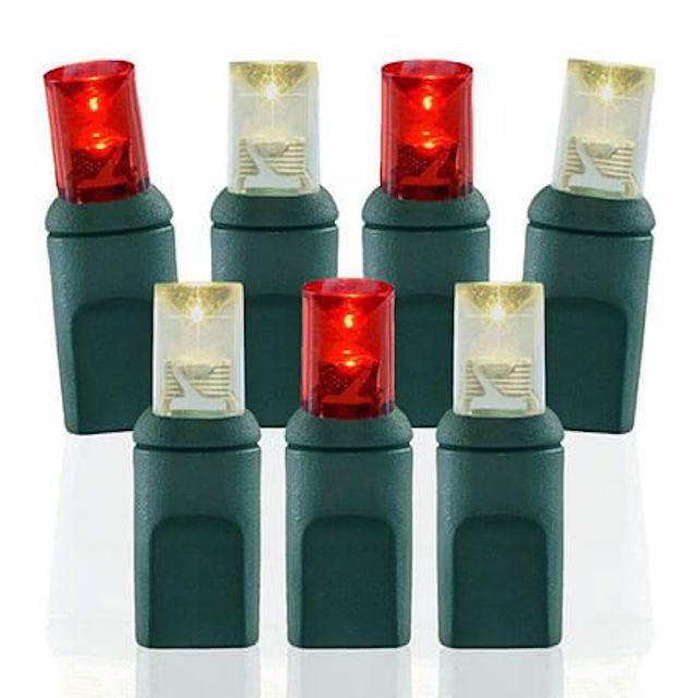 Pro Christmas 5mm Wide Angle Conical LED Christmas Lights