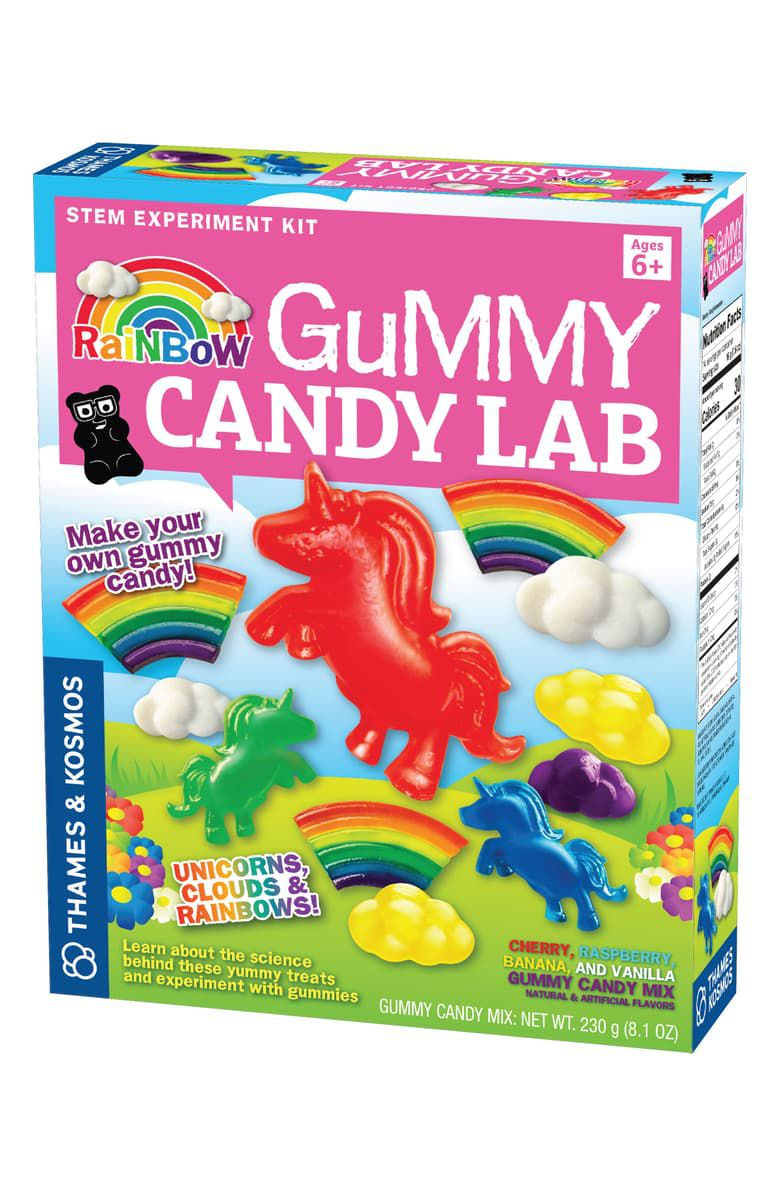Rainbow Gummy Candy Lab Unicorns, Clouds & Rainbows! Science Kit THAMES & KOSMOS