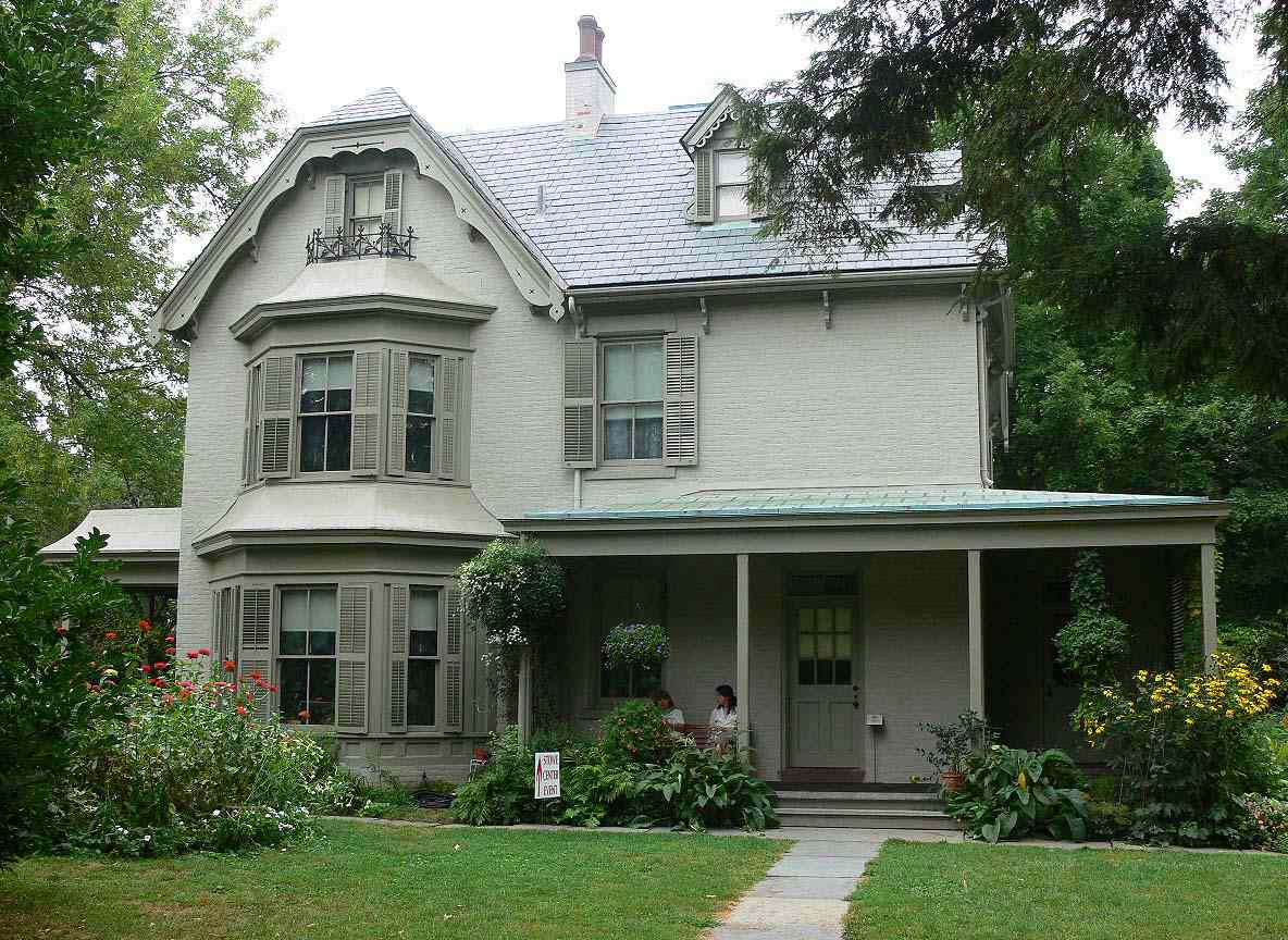 The Harriet Beecher Stowe House in Hartford, Connecticut