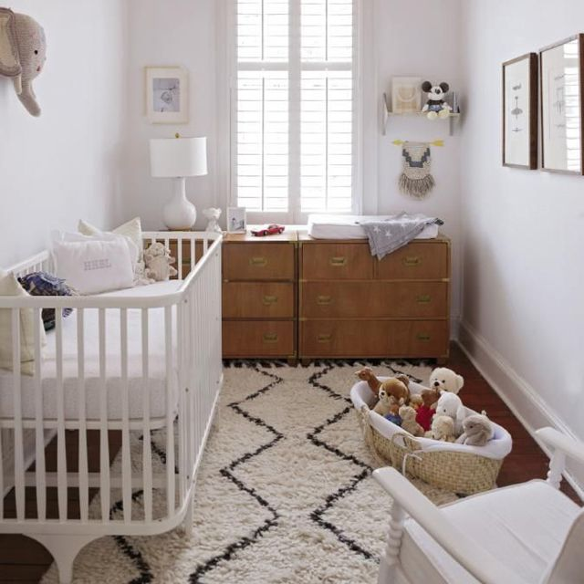 Small nursery in white