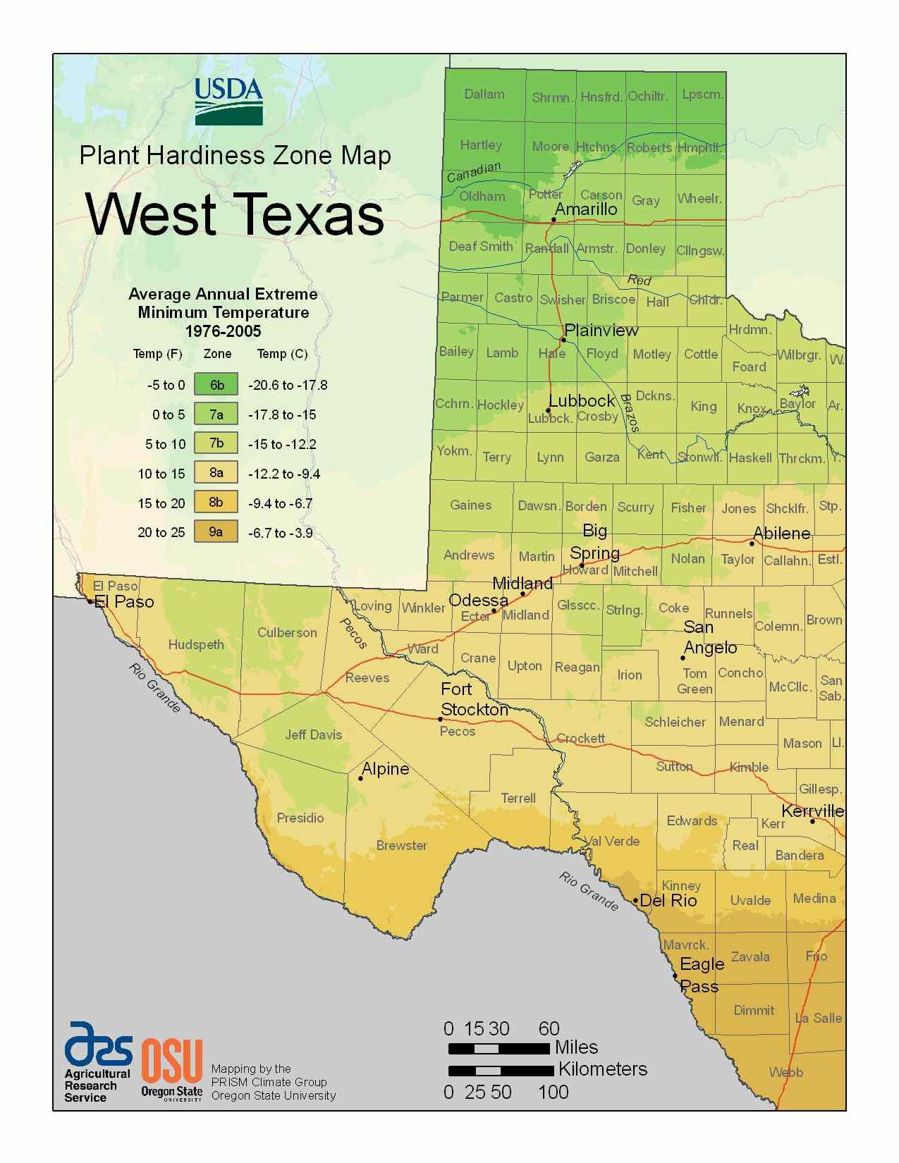Photo of West Texas Hardiness Zones