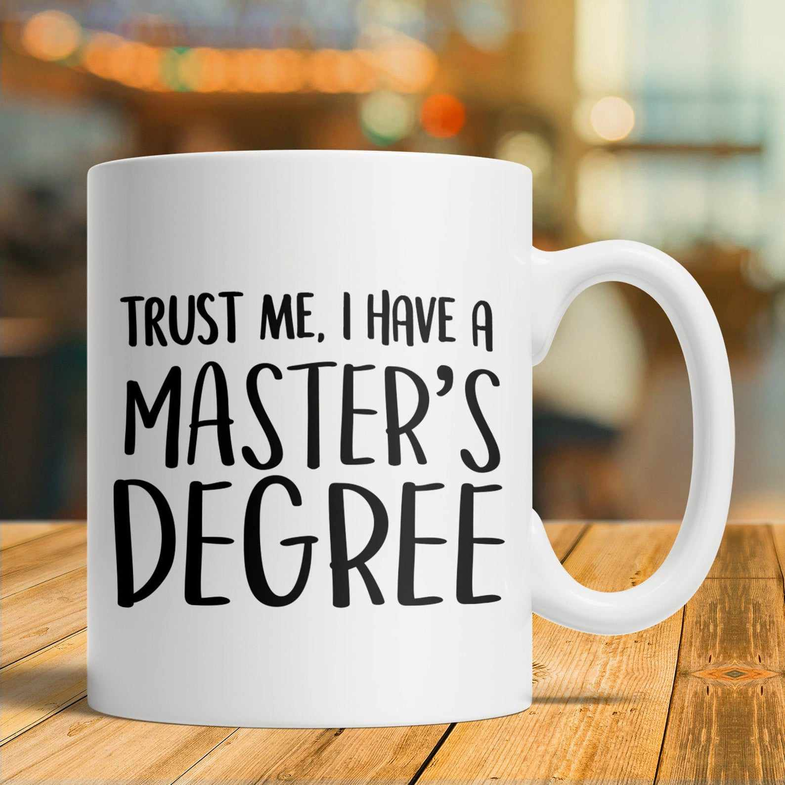 Etsy Masters Degree Mug