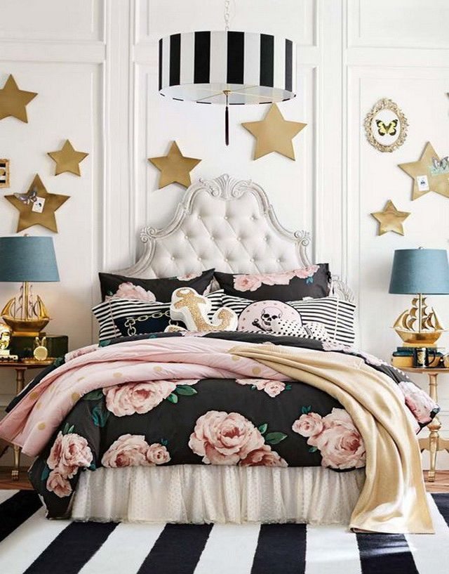 Glitz and glam: tween room