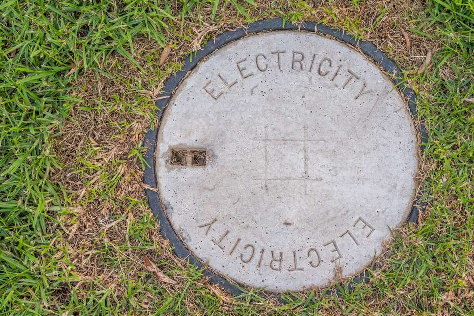 underground electricity supply