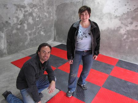 Rubber Flooring A Natural Fit For Basements