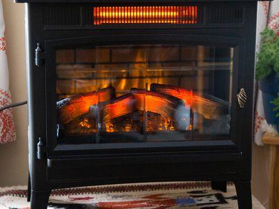 Duraflame Infrared Quartz Fireplace Stove