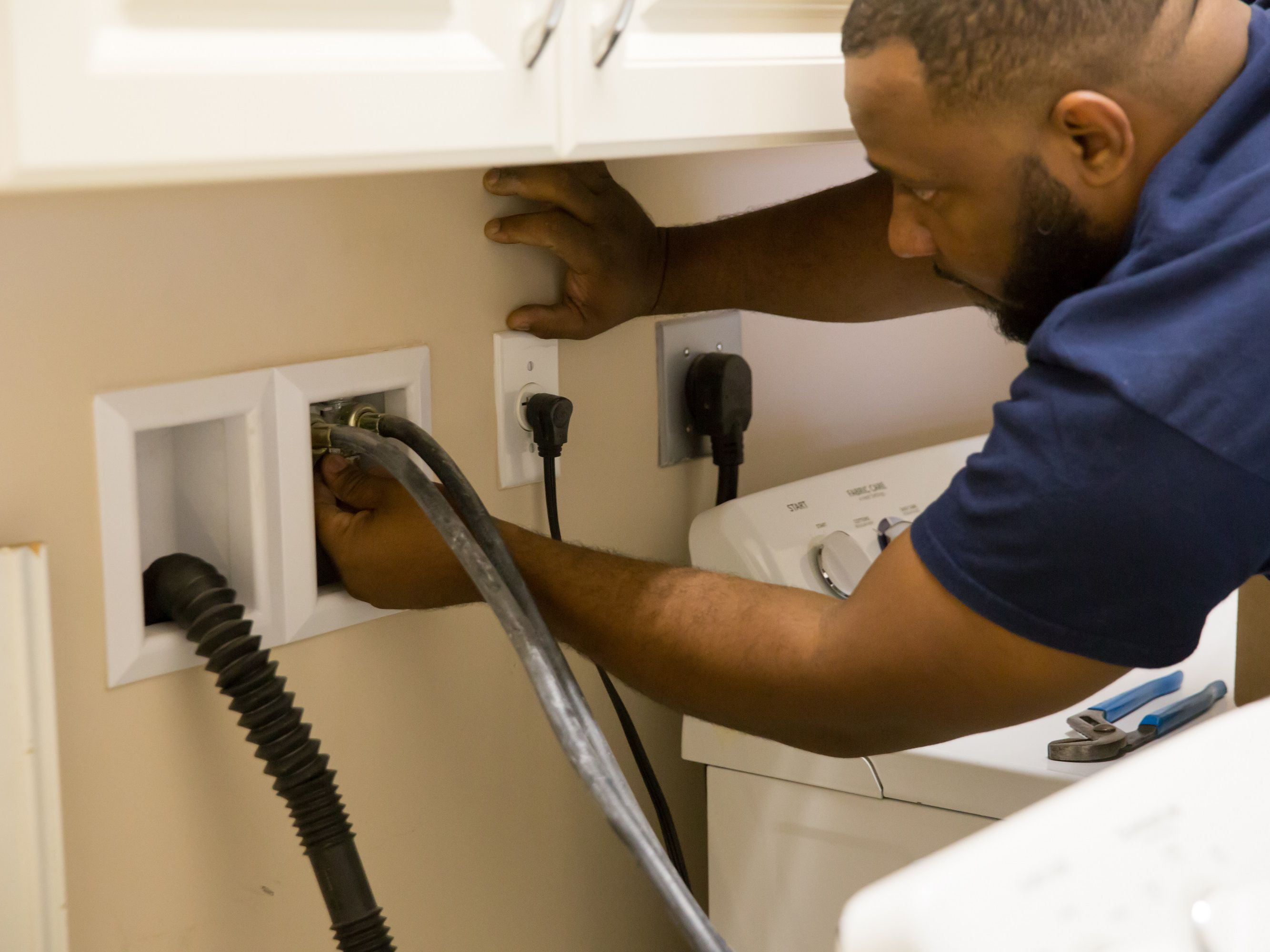 Washing Machine Hoses Care Selection And Installation