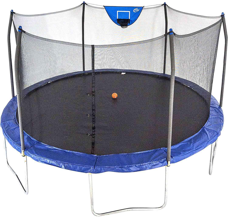 Skywalker Trampolines 15-Foot Jump N Dunk Trampoline
