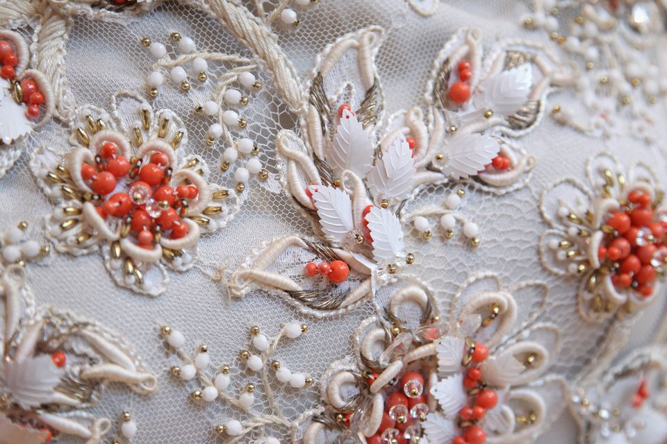 How to clean beaded and sequined clothes