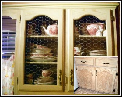 Cabinet Door With En Wire