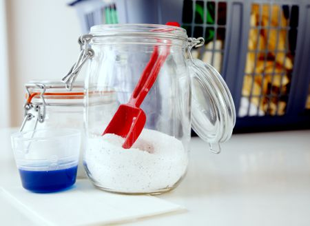 Homemade Laundry Detergent for HE Washers