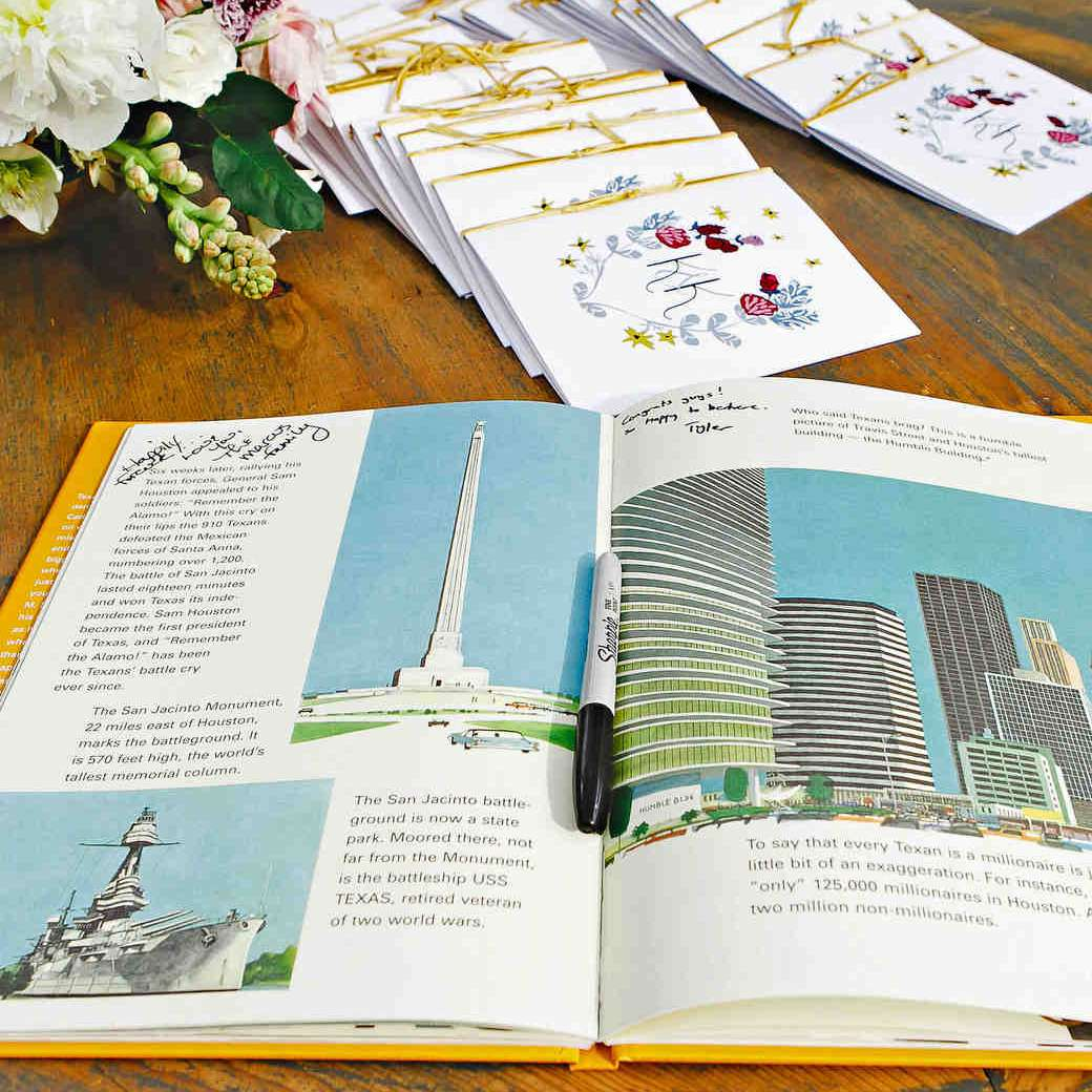 Wedding City Guest Book