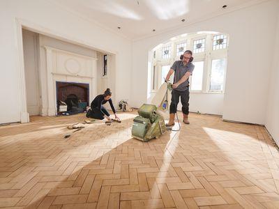 parquet floor sanding