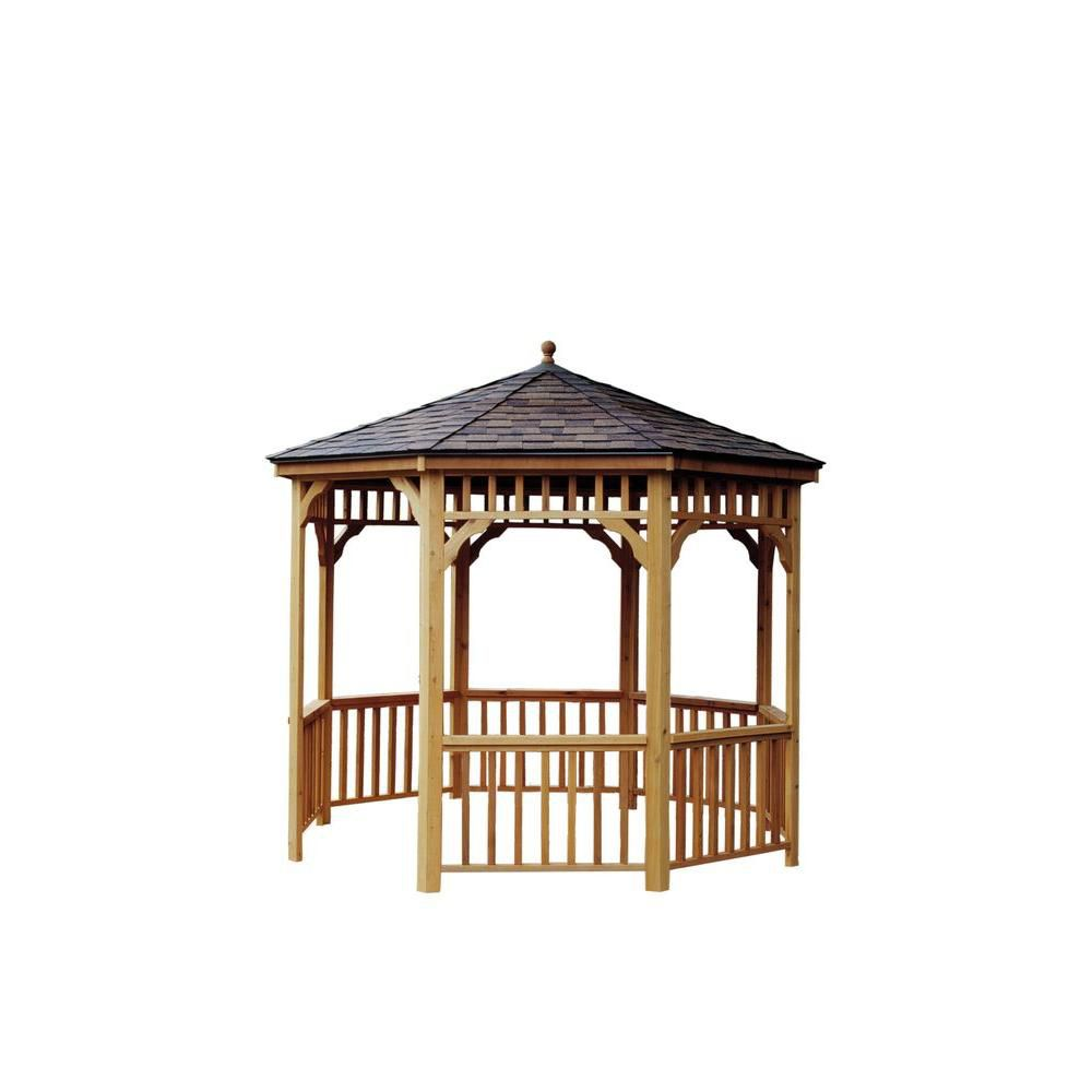 Best Kit San Marino 10 Foot Round Gazebo