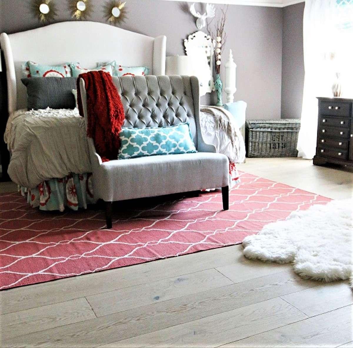 Bedroom Plank Flooring