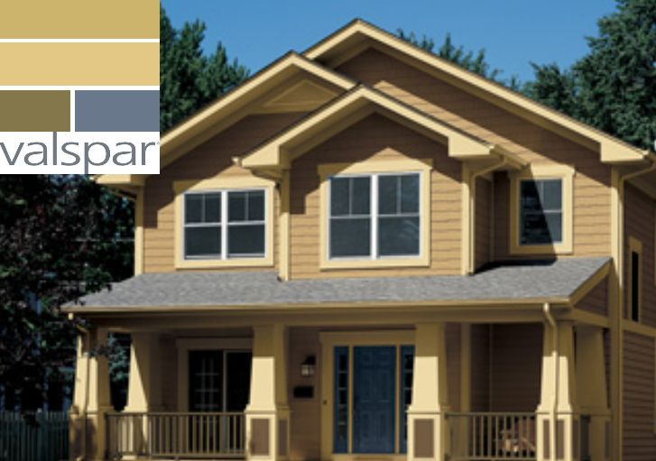 Craftsman house colors valspars offerings