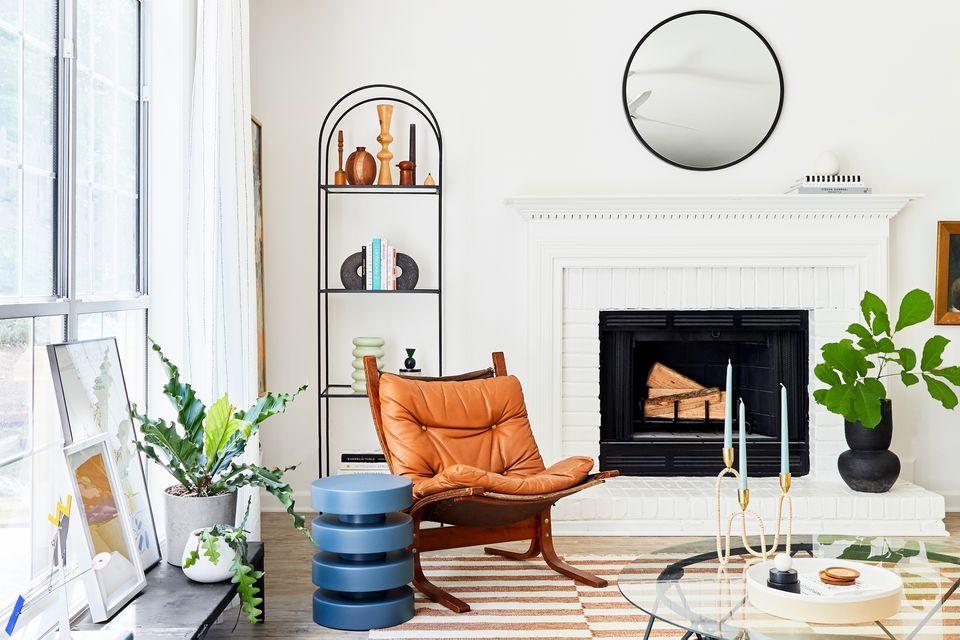 Living Room Styled by Emily Henderson Design