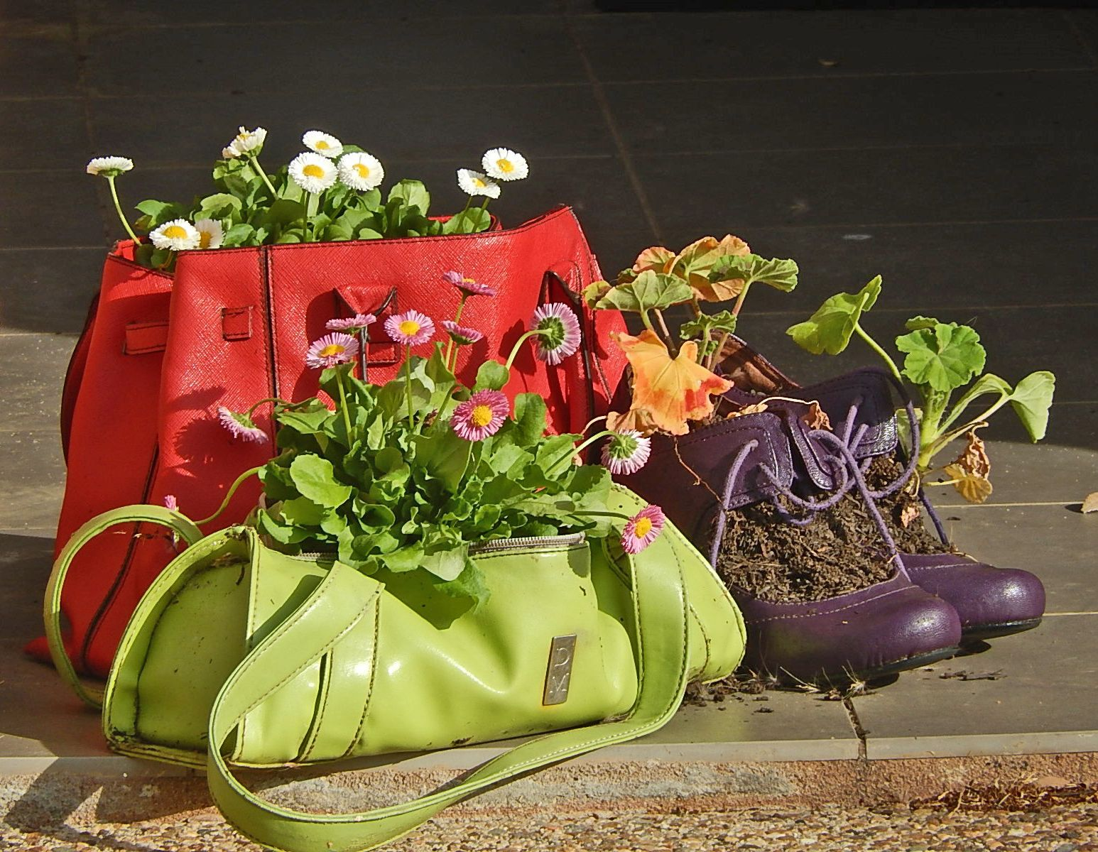 Creative planter ideas izmirmasajfo