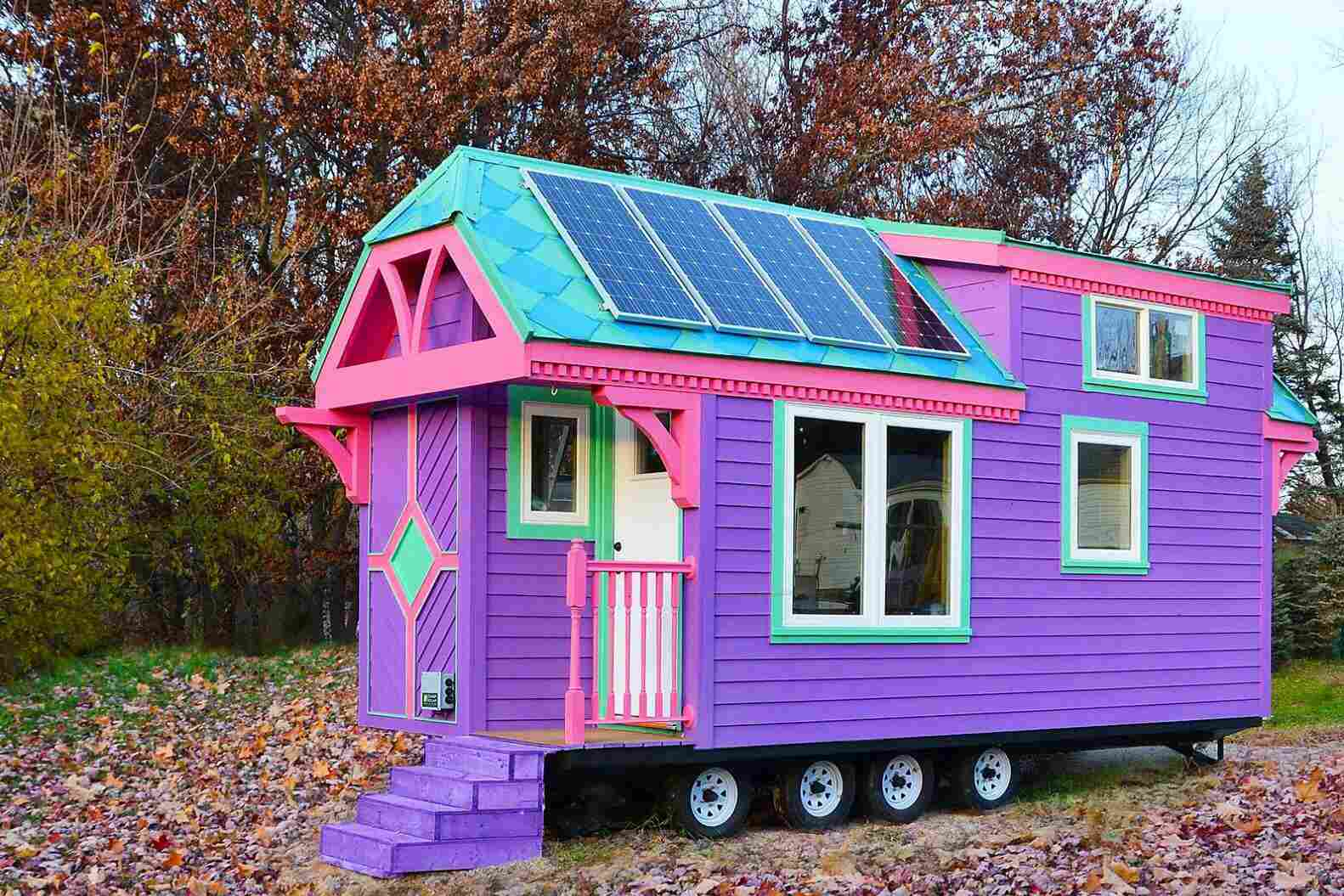 Casa pequeña personalizada Ravenlore , Jamaica Cottage Shop pequeña casa