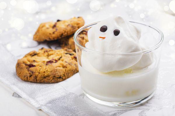 Eggnog And Cookies For Santa