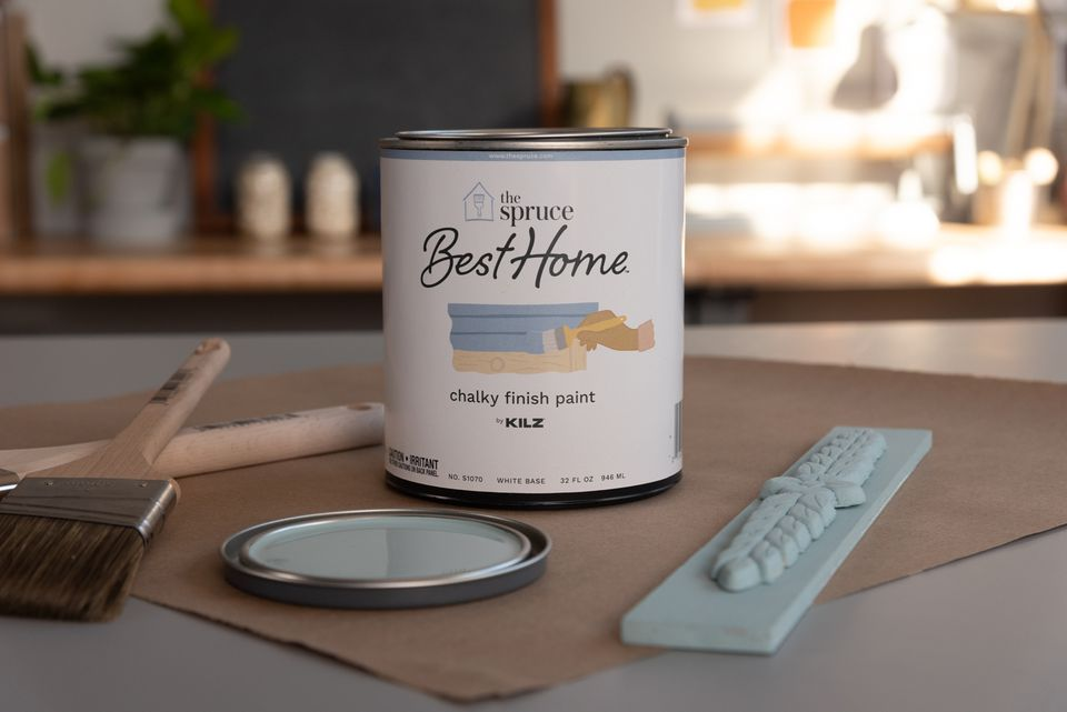 Can of The Spruce Best Home Chalky Finish Paint