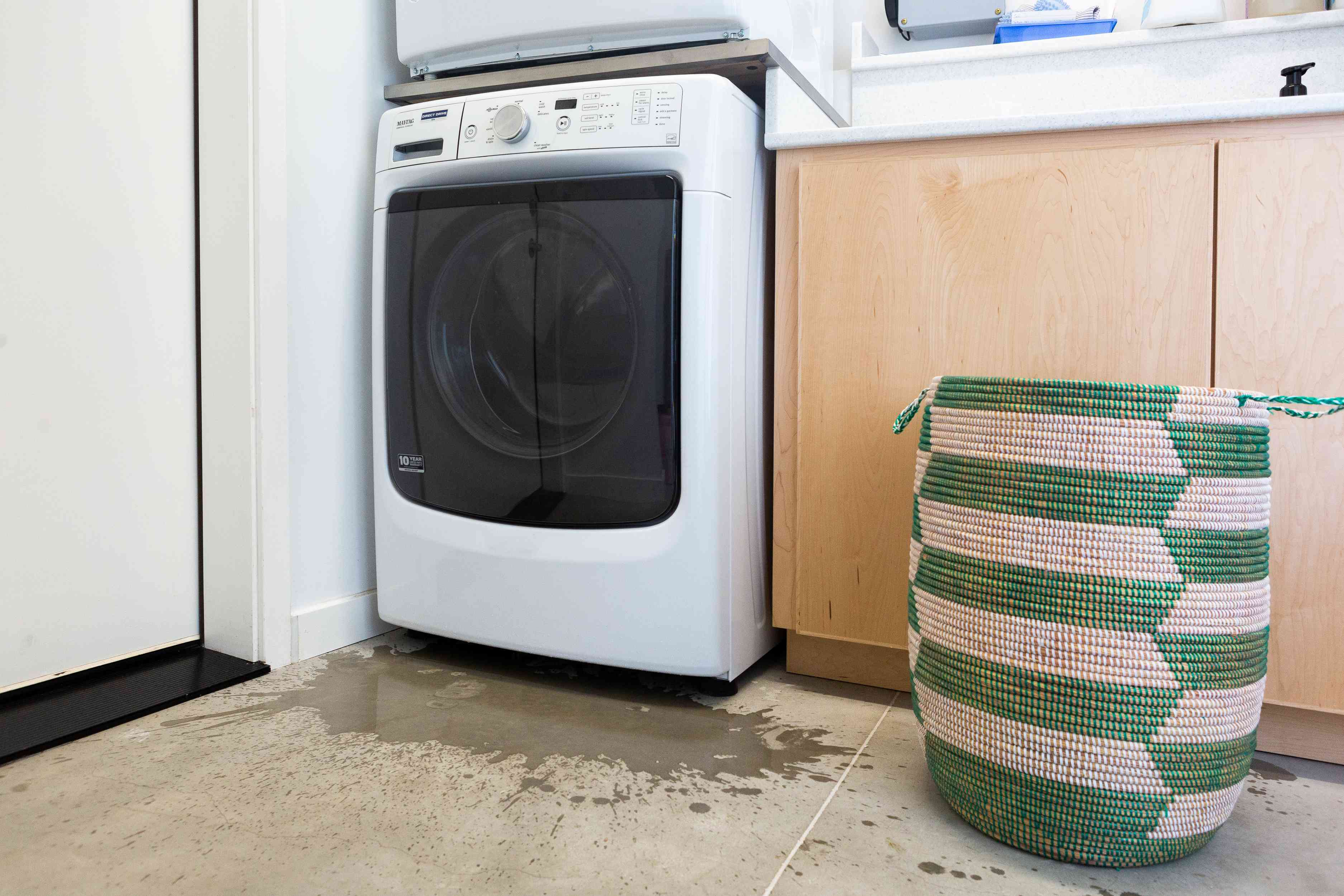 overflowing washer