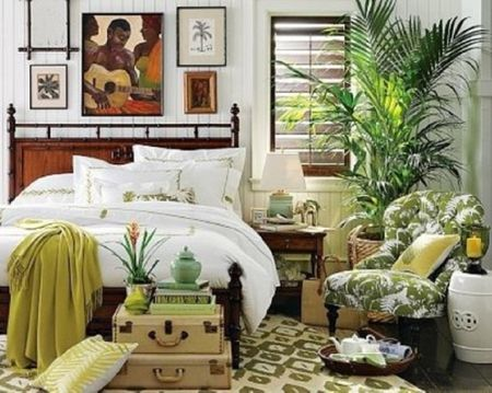 Boho Bedroom With Lots Of Plants