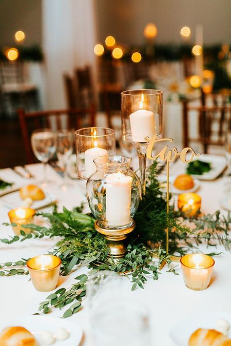 15 Winter Wedding Centerpieces