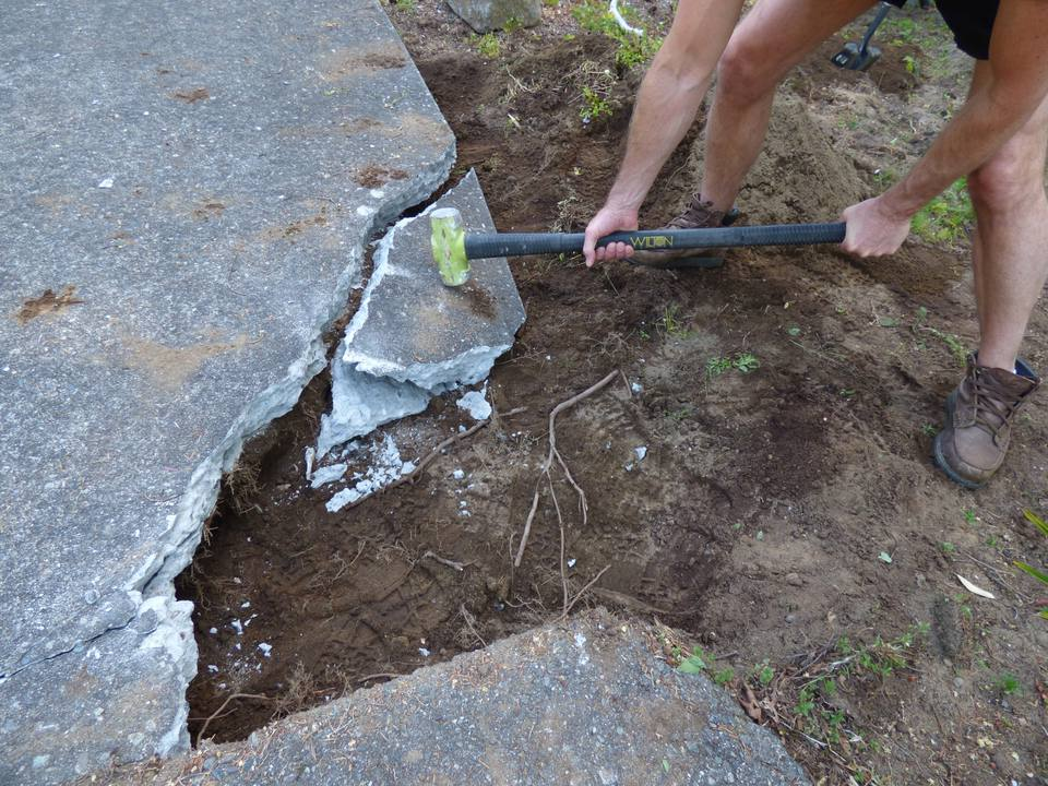 How To Break Up Concrete By Hand