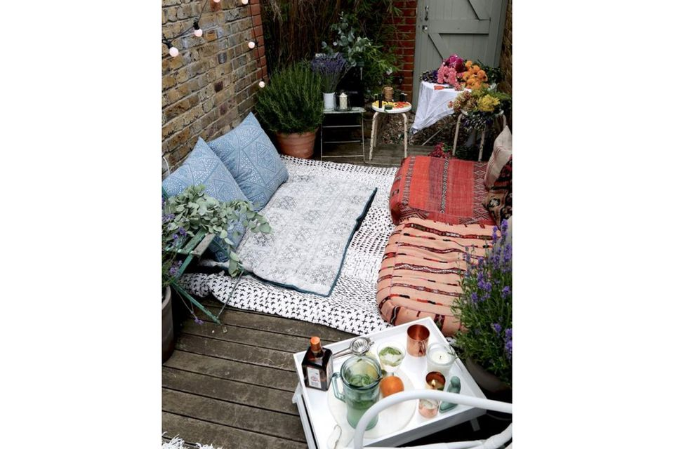 How to Turn Your Tiny Balcony Into an Outdoor Paradise Ideas Small Backyard Paradise on outdoor living space ideas, bedroom paradise ideas, koi pond ideas, vaulted ceilings ideas, swimming pool paradise ideas, backyard landscaping, outdoor tiki bar ideas, landscaping ideas, tiered deck ideas, fireplace ideas,