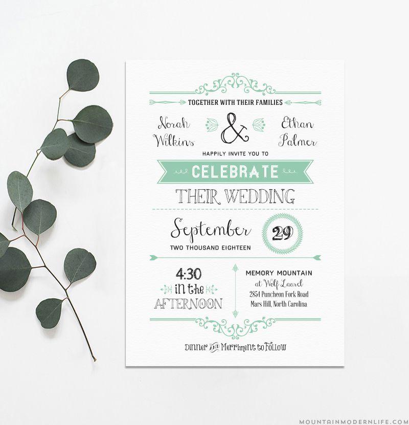 wedding invite free templates