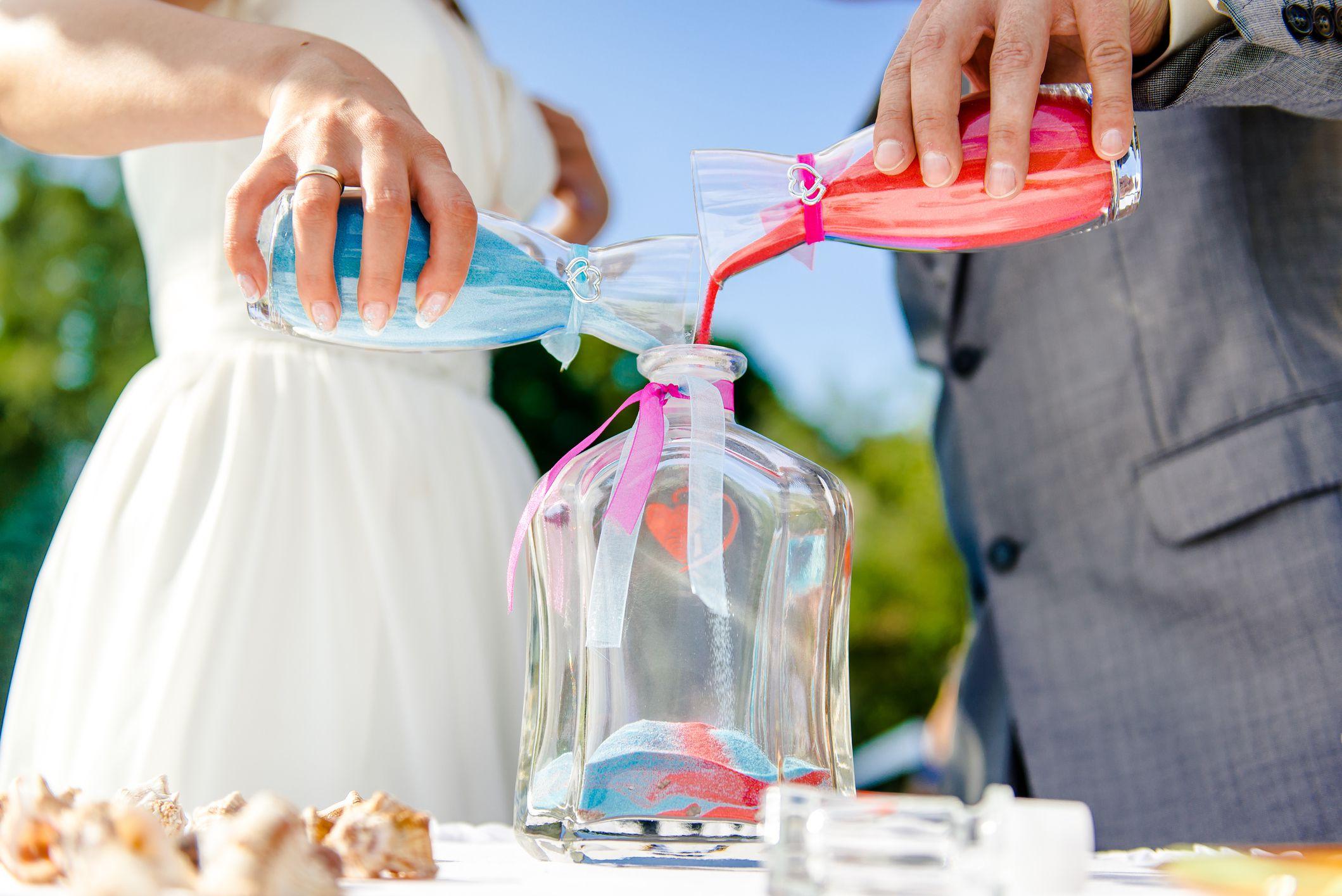Wedding Sand Ceremony Vows