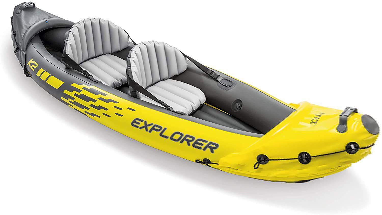Intex Explorer K2 Inflatable Kayak Set