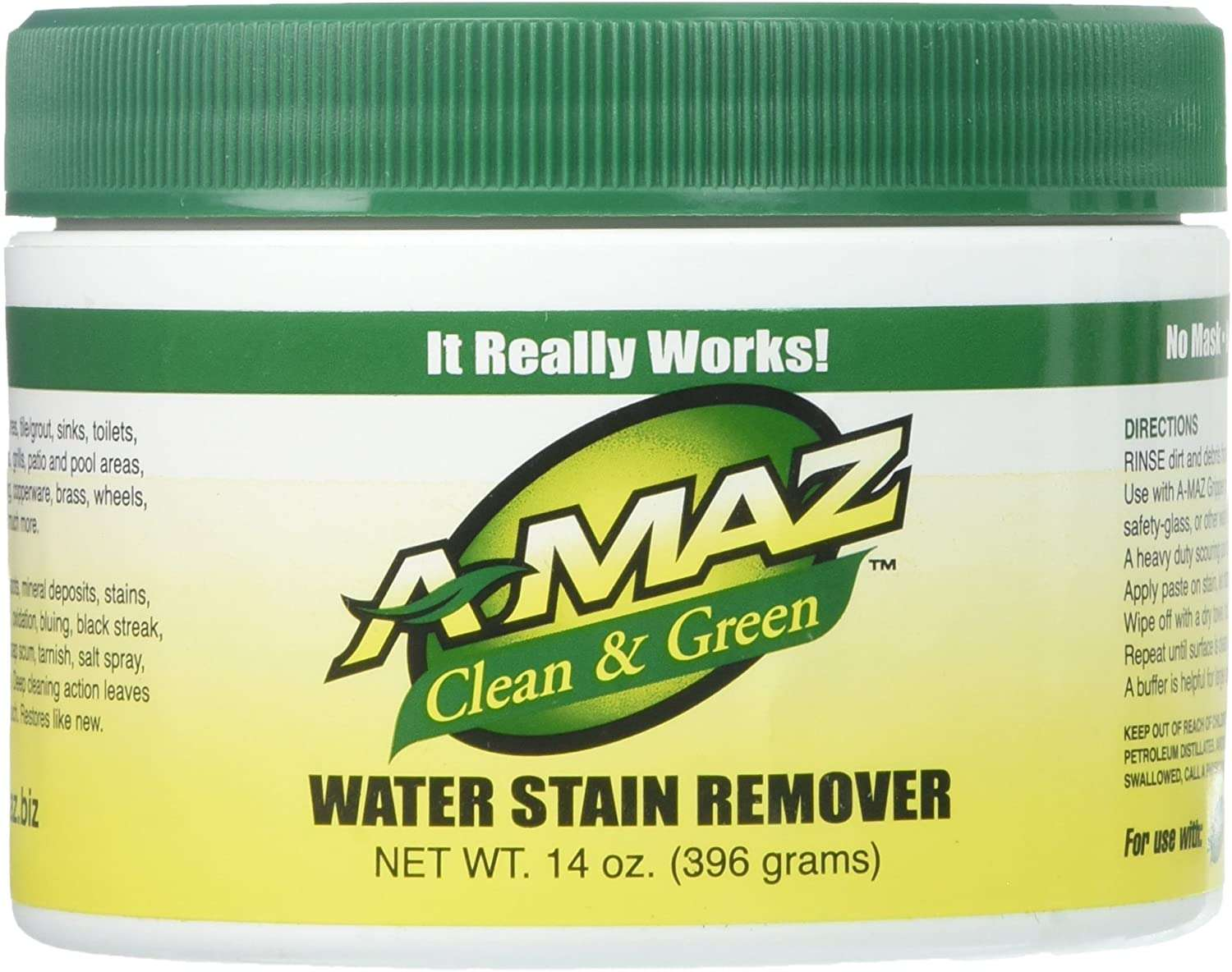 : A-MAZ Clean & Green Water Stain Remover