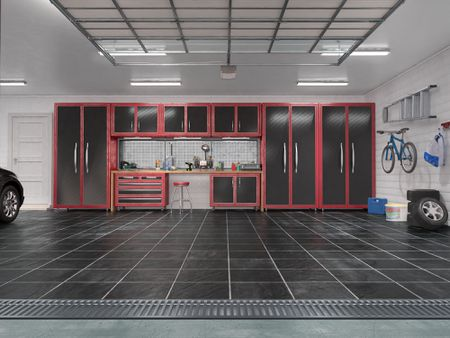 How To Choose The Best Garage Floor Tiles, Wood Floor Garage