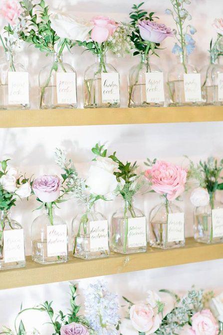 Tarros de acompañamiento de flores