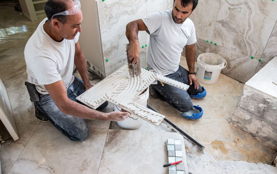 Installing Marble Tile in Shower