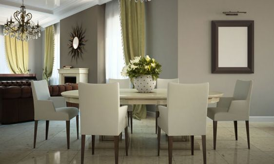 Dining Room Paint Color Ideas - Dining-room-wall-paint-ideas