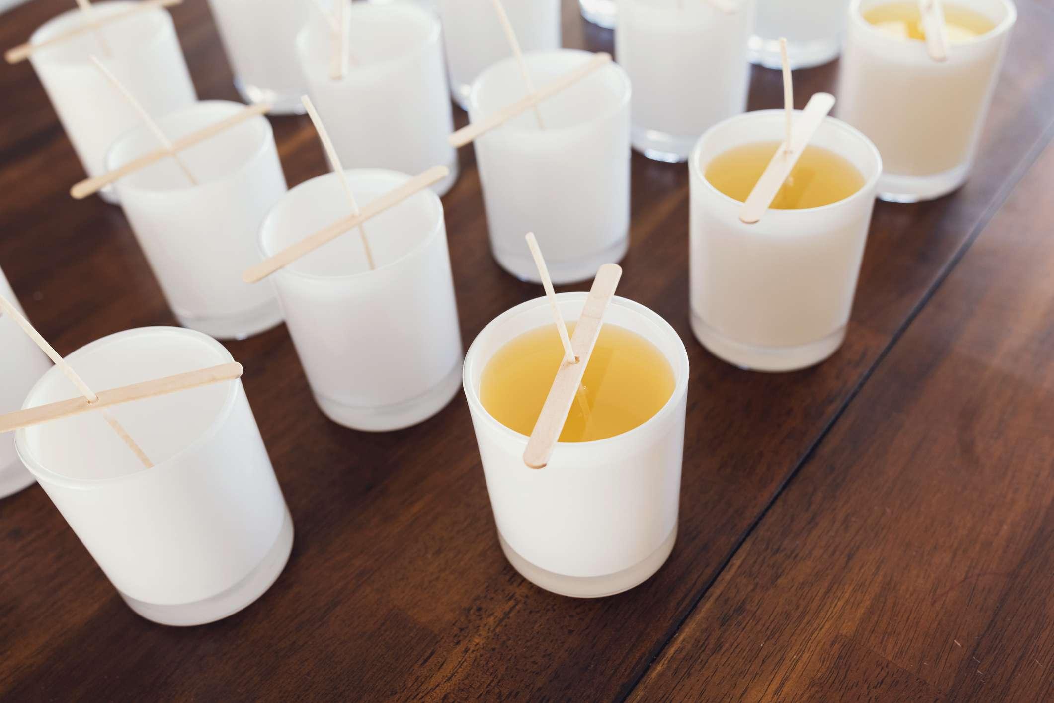 Fabricación de velas de bricolaje