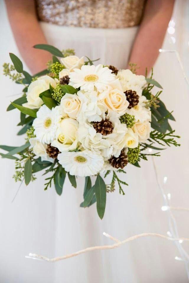 Gerbera Daisy Winter Wedding Flower
