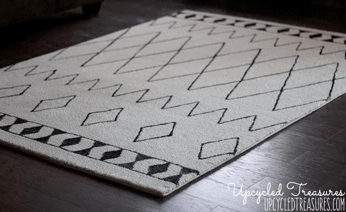 Rug with Sharpie Design