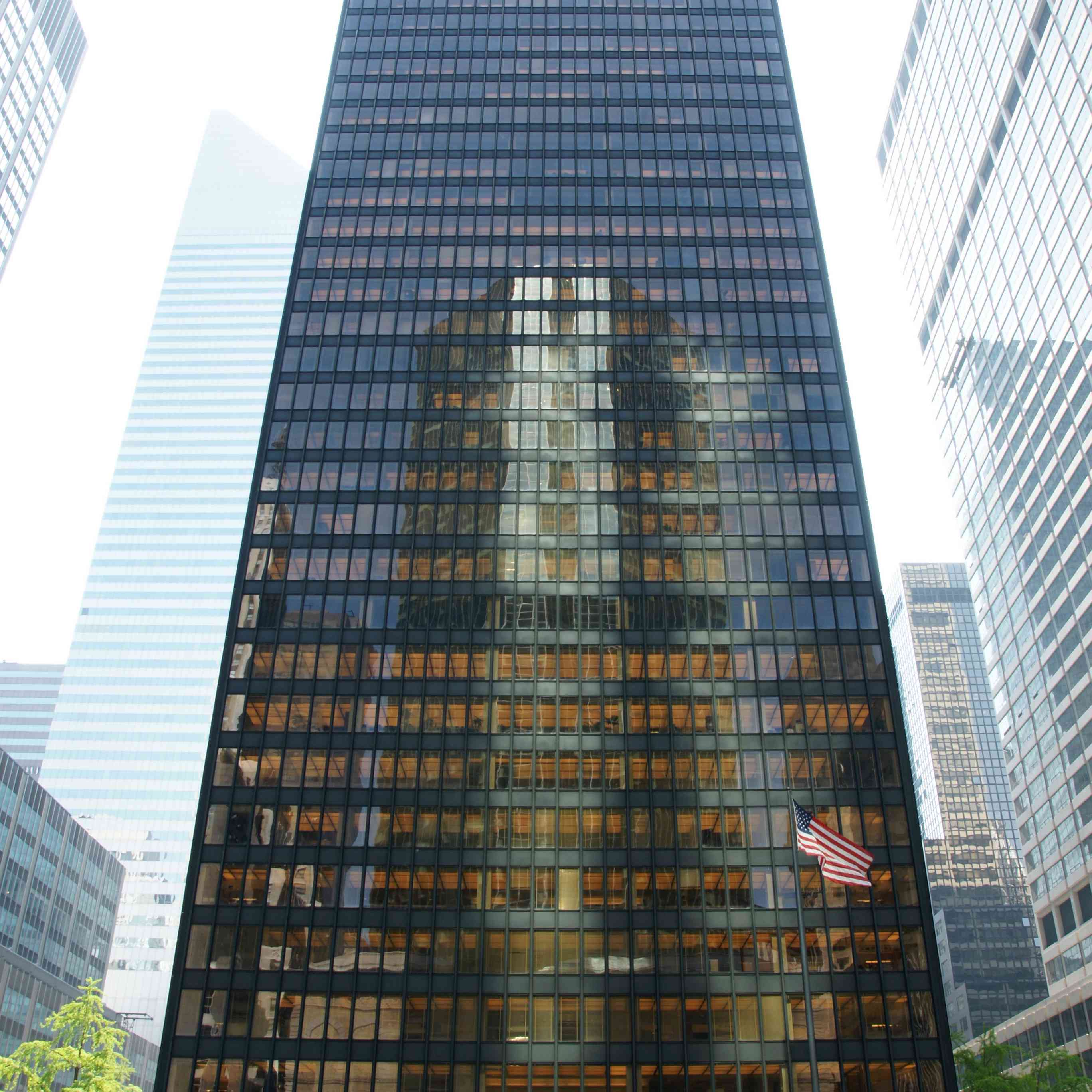 Seagram Building in NYC