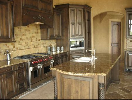 Outstanding How To Give Your Kitchen A Tuscan Style Home Interior And Landscaping Oversignezvosmurscom