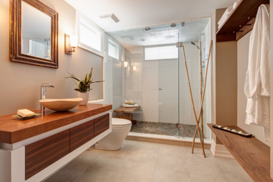 13 Ways to Create a Zen Bathroom Zen Color Bathrooms Designs on zen master bathrooms, zen themed bathrooms, zen color scheme ideas, calming bedroom paint colors, zen garden, cream cabinets with taupe paint colors, zen room, zen bath, spa paint colors, zen inspiration,