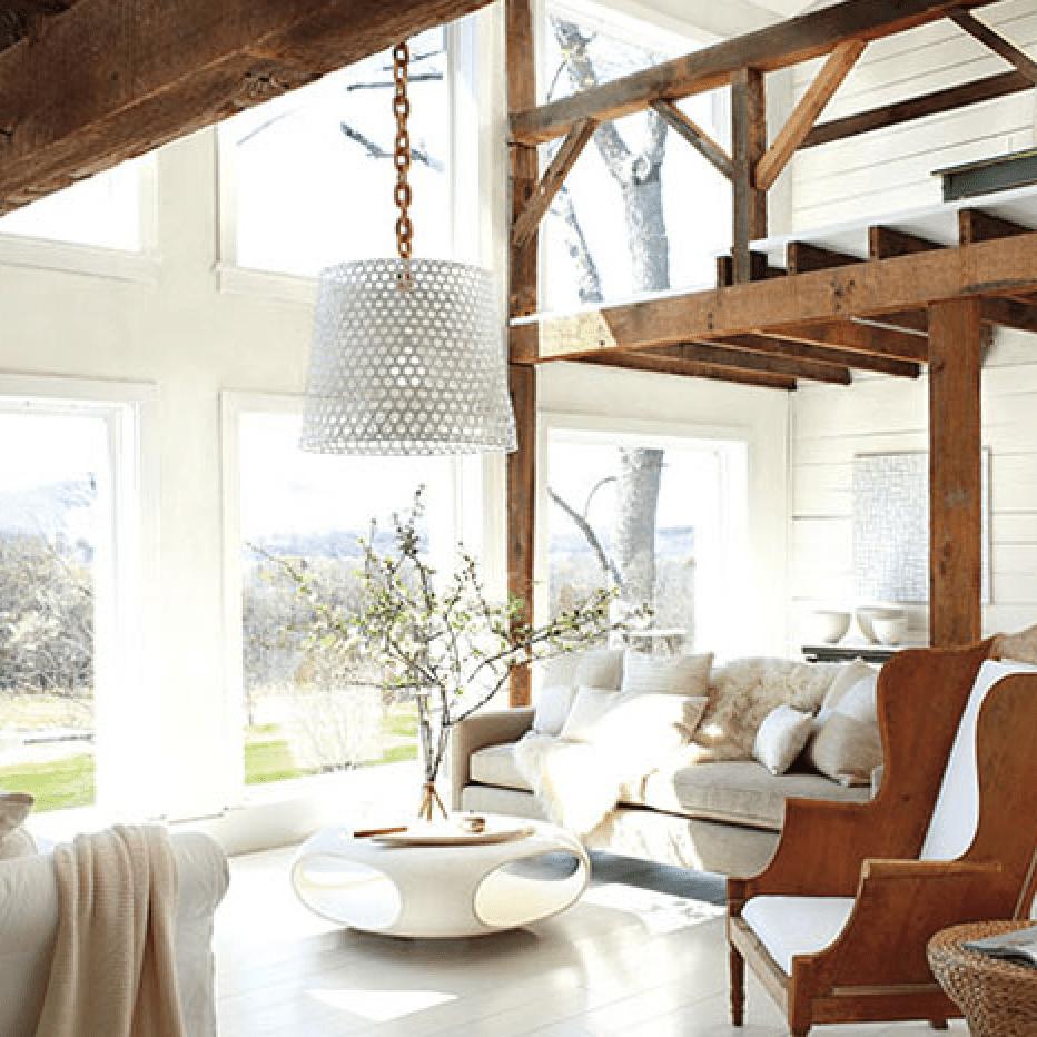 White Living Room Ideas | Benjamin Moore