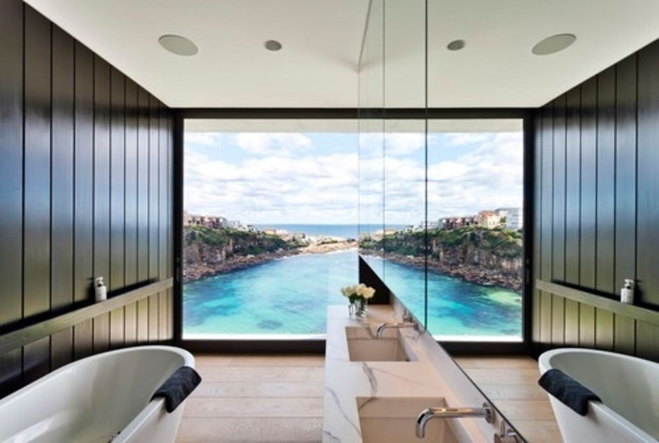 Dream Bathroom With Ocean Views