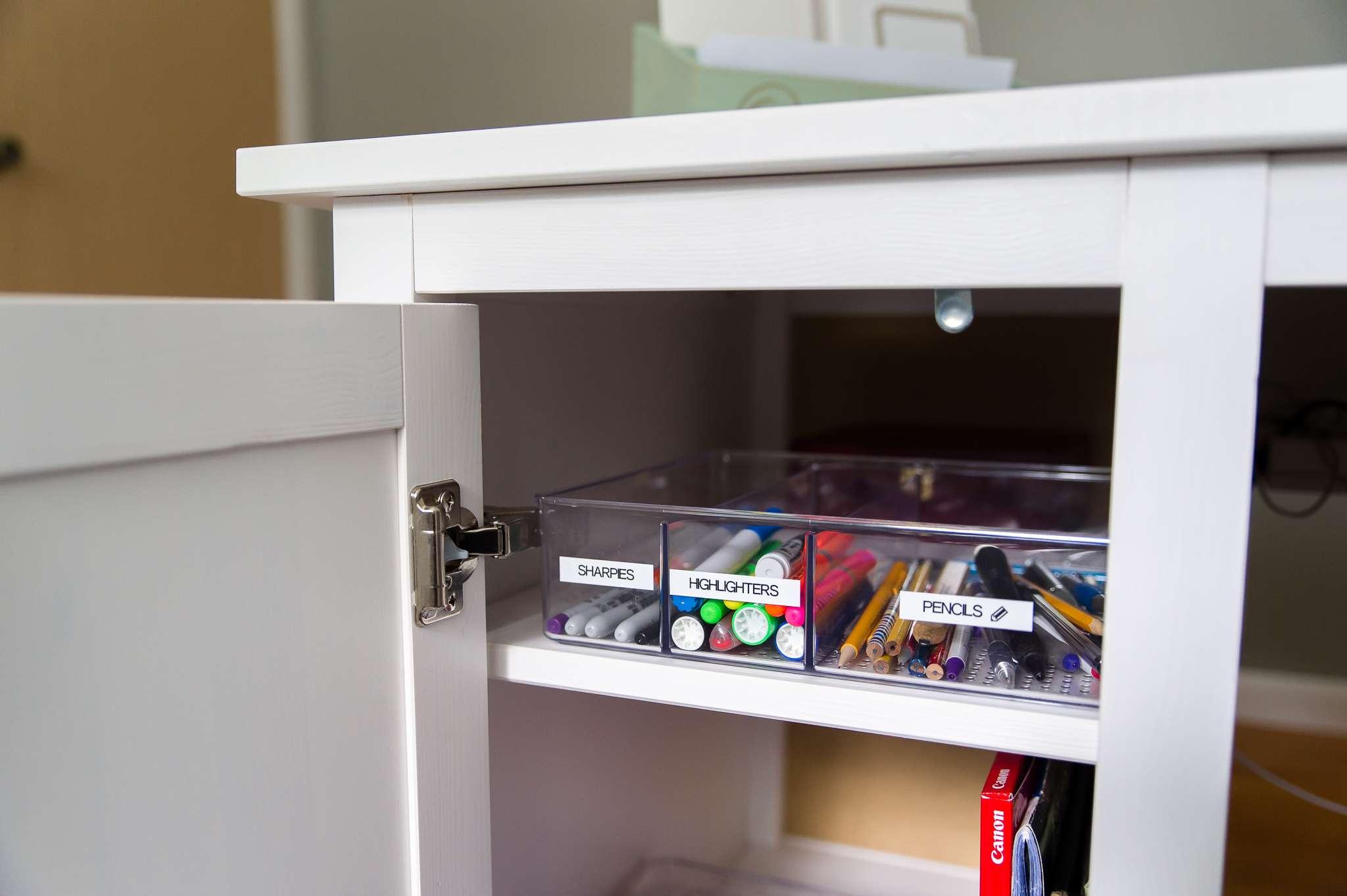 Un escritorio organizado