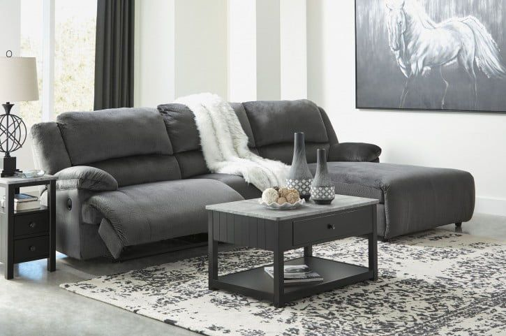 Ashley Furniture Clonmel Reclining Sectional