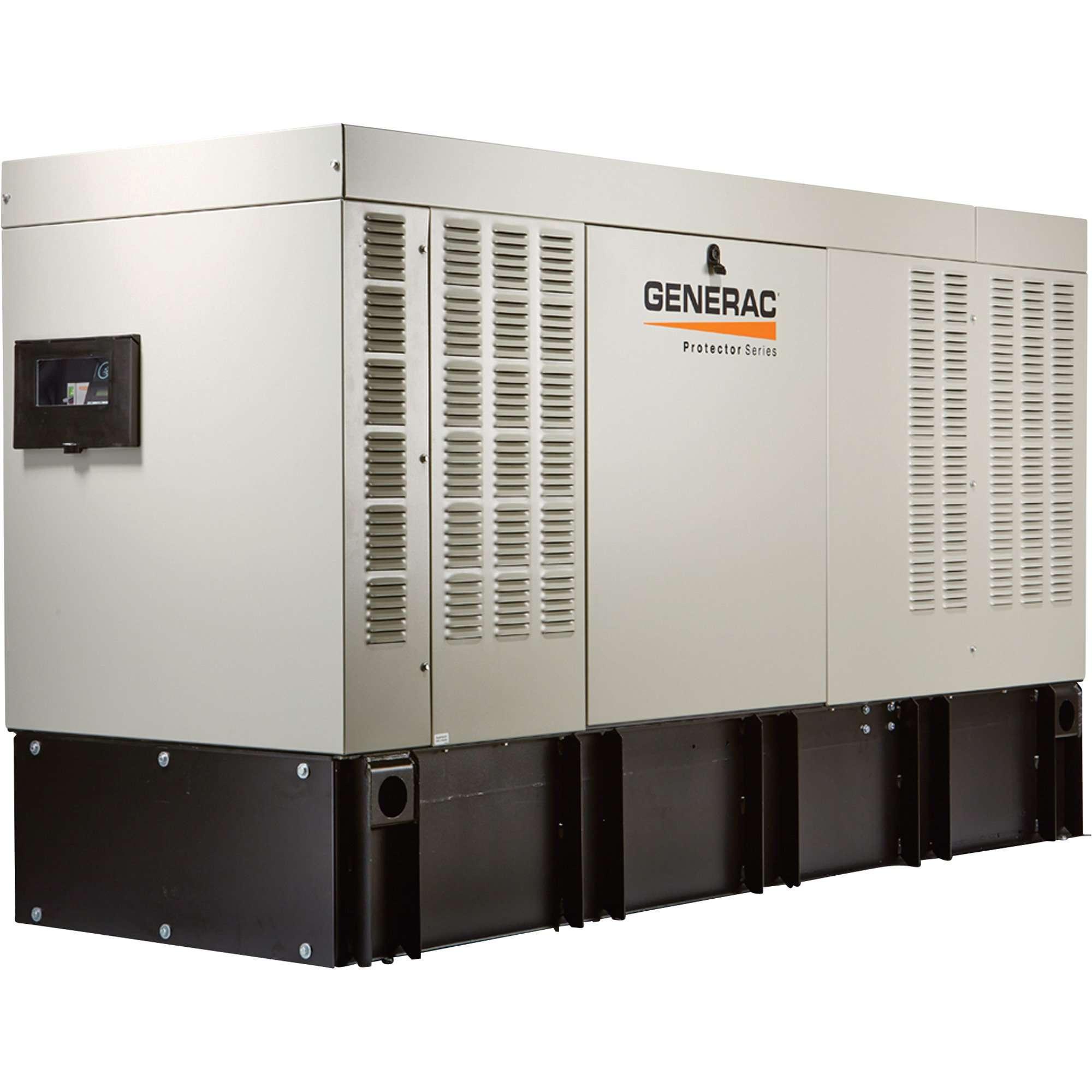 Generac Protector Series 15 kW Diesel Home Standby Generator, Model RD01525